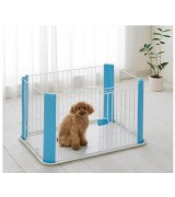 IRIS Wire Pet Pen -  Blue