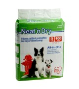 IRIS IRIS Neat 'n Dry Floor Protection and Training Pads for Puppies and Dogs Regular 100 Count