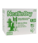 IRIS Neat n Dry Floor Protection and Training Pads, 200-Count