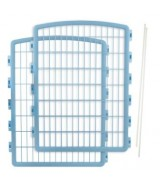 IRIS Plastic Pet Pen Panels w/Pins for CI-908, Blue