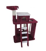 Catland Cat Tree w/Ladder, Pedestal and Scratching Rope