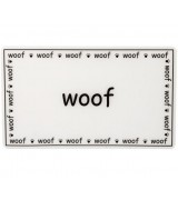 "Petrageous ""Woof"" Dog Placemat"