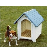 Outside Dog House - Plastic Dog House LGH-1 Green