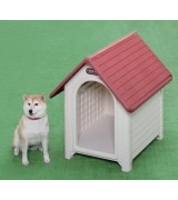 Outside Dog House - Plastic Dog House LGH-1 Rose