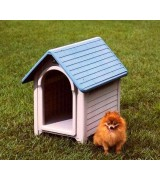 Outside Dog House - Plastic Dog House MGH-1 Green