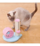 Catland Cat Toy with Scratching Pole