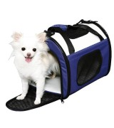 IRIS Soft Sided Pet Carrier, Navy