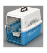 IRIS Small Dog Air Travel Carrier Crate, Light Blue