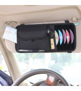 AST Space More Visor Organizer, Holds Sunglasses, Maps, Pens, CD's, etc., Black