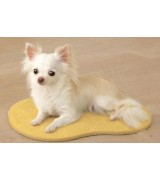Self-Heating Small Mat for Dogs and Cats, Yellow