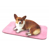 Self-Heating Large Puzzle Mat for Dogs, Pink