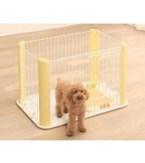 IRIS Wire Pet Pen, Yellow