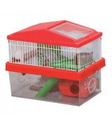 IRIS Playhouse Habitat Cage, Red