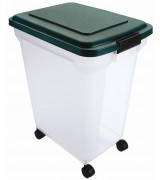 Official Remington® 55qt Weathertight Pet Food Storage Container, Hunter Green