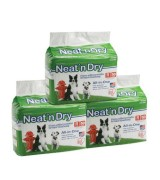 IRIS Neat n Dry Floor Protection and Training Pads, 150 Count