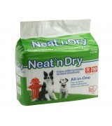 IRIS Neat 'n Dry Floor Protection and Training Pads for Puppies and Dogs 50 Count