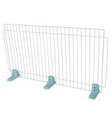 Large Self Standing Wire Pet Fence - Blue