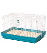 IRIS Wide Rabbit Cage With Wooden Tray
