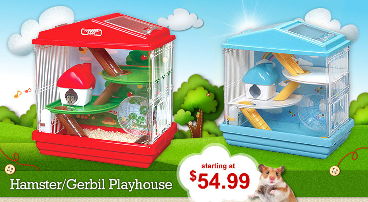 Hamster Gerbil Playhouse